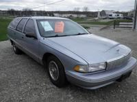 1995 Chevrolet Caprice ClassiscWagon! Shown in Silver