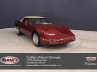 This 1995 Chevrolet Corvette comes complete with