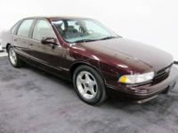 1995 Impala SS THIS CAR IS A STEAL AT THIS PRICE! AND