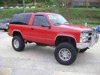 Options Included: N/A1995 Chevy Tahoe LS - This 95'