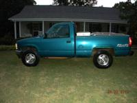 1995 chevy 2500 4x4 long wheel base single cab has new