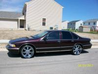 I have a clean 1995 chevy caprice for sale with very