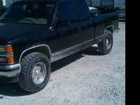 For sale or trade is a 1995 Chevy 4x4 has 185000 miles