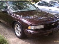 1995 Chevy Impala SS (Burgundy) Have to many Cars need