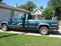 1995 Chevy K2500 Turbo Diesel Extended Cab 4x4 --