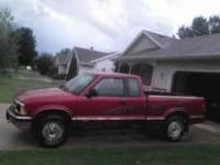 I have for sale a 1995 S 10 extended cab, PU, Truck is