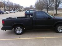 1995 chevy s10 pickup. 5 speed manual transmission. The