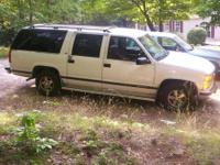 1995 Chevy Suburban 1500 2wd for sale; 206,000 miles.