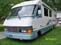 1995 diesel pusher with a 250 Cummings rear engine,