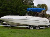 VERY NICE 1995 25FT COBIA DECK BOAT WITH 5.7 LITER