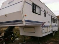 I have a very nice fifth wheel camper rv that im going