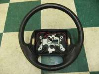 I have a used 1995 Corvette Steering Wheel in good