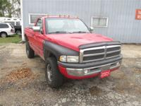 This 1995 Dodge Ram 1500 Regular Cab 4WD 4x4 showcases