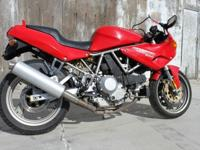 1995 DUCATI SUPERSPORT-CR 900 6 speed with new tires,