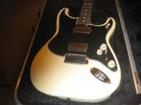 A 1995 Custom-made Stratocaster made in USA with over