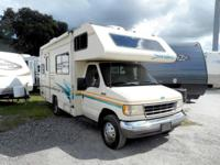 Take a look at this 21' Class C Motor Home with