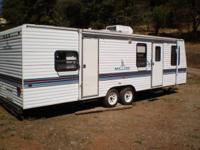 This self-contained 1995, 30-foot, double-axle,