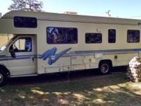 1995 Fleetwood Tioga Montara 29 Ft.  Blue Cloth