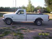 I have for sale a 1995 Ford F-150 with a 302 V8 and a