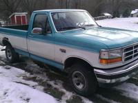 I have for sale a 1995 Ford F-150. It has a 5.0 liter