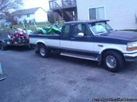 1995 FORD F250 7.5 MOTOR PS, PW, WL BIG 7.5 TOW PACKAGE