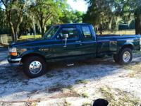 We are selling our 1995 Ford F350 XLT 2 door extended