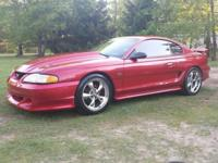 Hey there I have a really good 95 mustang gt with only
