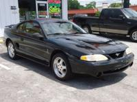 Options Included: N/A1995 FORD MUSTANG COBRA*****WOW