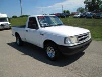 VERY CLEAN 1995 FORD RANGER XL, 4-CYLINDER, MANUAL