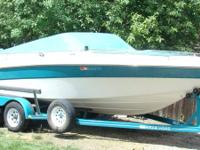 We are selling our boat! It is 22' long with a 5.8 Ford