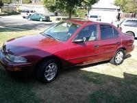 I am offering my Geo Prizm with 95k initial miles. This