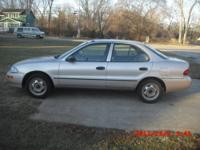 For sale in great shape is a 1995 Geo Prizm.This car
