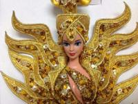 1995 Goddess of the Sun Bob Mackie Barbie. Also have