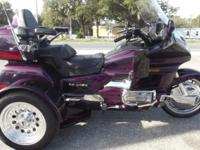 1995 GOLDWING TRIKE 1500CC 20TH ANNIVERSARY EDITION