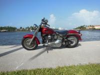 1995 Harley Davidson Flstf Cruiser 2 cylinders (fatboy)