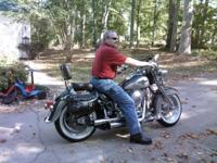 1995 Harley Davidson Heritage Softail Nostalgia, FLSTN.