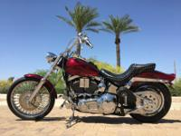 One-owner Harley Softail with lots of extras! Custom