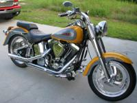 Very nice and well taken care 1995 Harley Davidson
