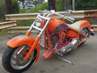 1994 Harley Soft Tail. Samson display bike.`Bike stored