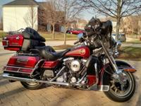 2000 Electra Glide 30th anniversary editions. Under