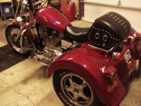 1995 Harley Sportster 1200 trike, Lehman conversion,
