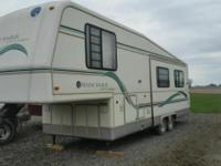 This is a 1995 Holiday Rambler Aluma-Lite Imperial 5th