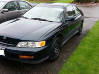 I'm selling my 1995 Honda Accord I've used a couple