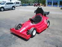 Track Ready This Go Kart has a Honda GX270 9.0hp.