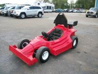 Track Ready This Go Kart has a GX270 Honda 9.0hp.