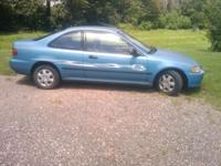 I have a 1995 Honda Civic 2 door Couple for sale. It