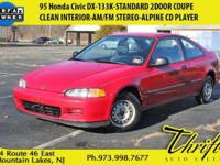 This 1995 Honda Civic DX is offered to you for sale by