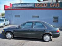 Options Included: Rear Bench Seat, Tilt Steering Wheel,