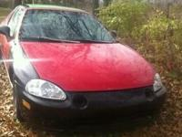 for sale is a 95 honda delsol DOES NOT have a motor or