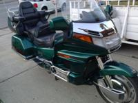 Below's an absolutely unique Goldwing up for sale. This